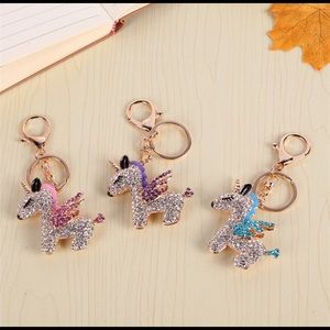 Accessories - Blue Unicorn Keychain 🦄